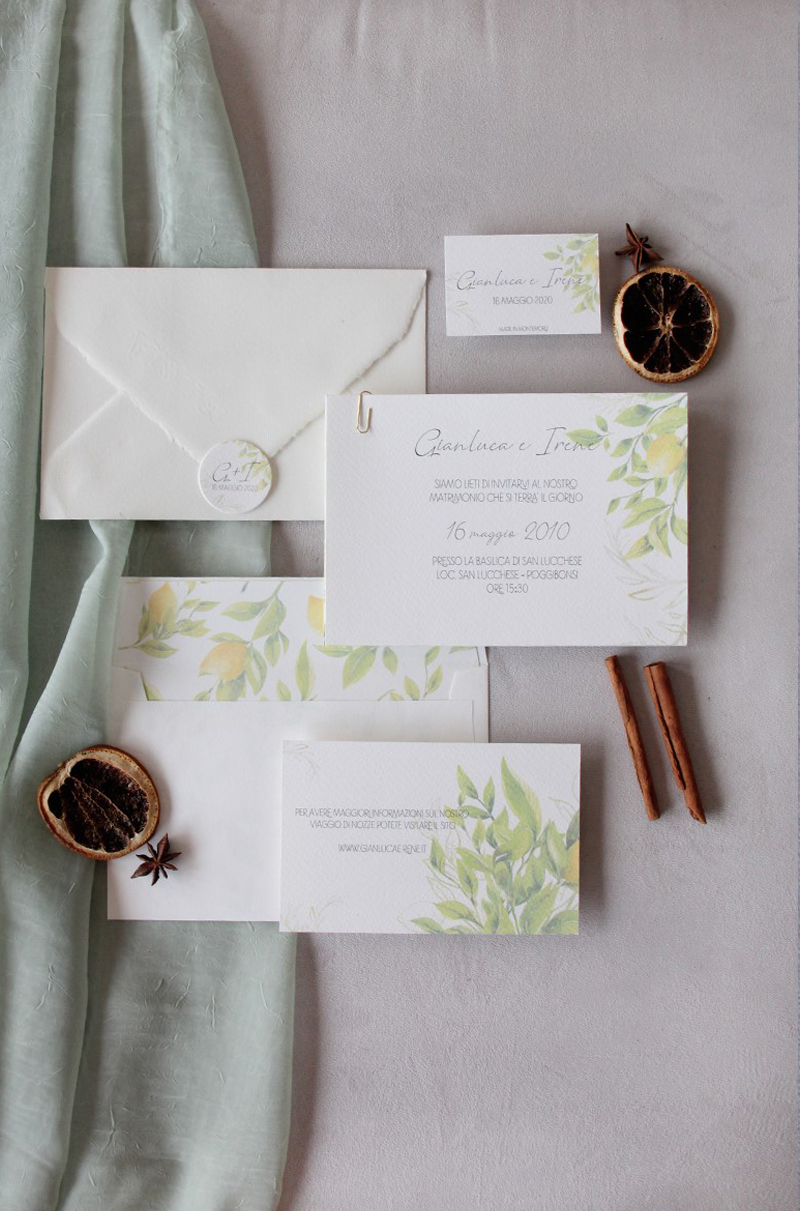 Mediterraneo – Greenery Wedding