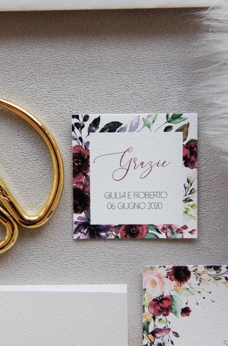 Burgundy – Romantic Flower Wedding