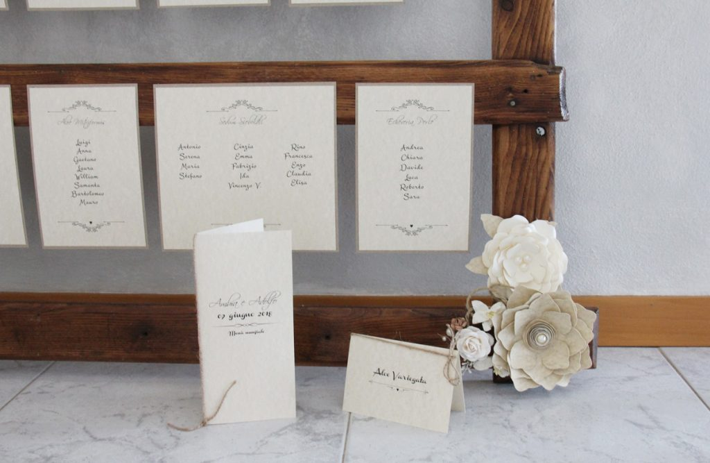 Rustic chic Tableau